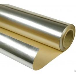 Алюминиевая фольга на крафт-бумаге, 18 м2