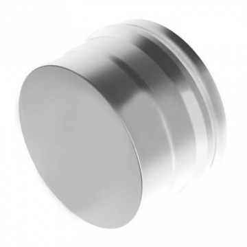 Заглушка для дымохода глухая Н, нержавейка 0,5мм d150