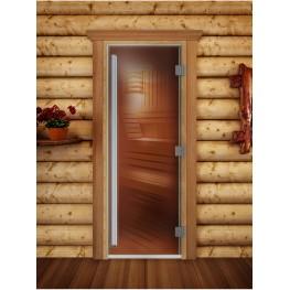 Дверь DoorWood 680х1890 «Престиж бронза»